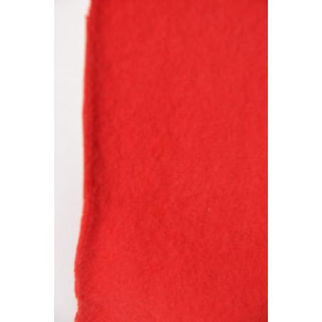 Tissu SDF 511, Polaire, 290g/m², Rouge