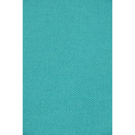 Tissu 2063 VT, Croisé majoritaire coton, 310g/m², Vert émeraude