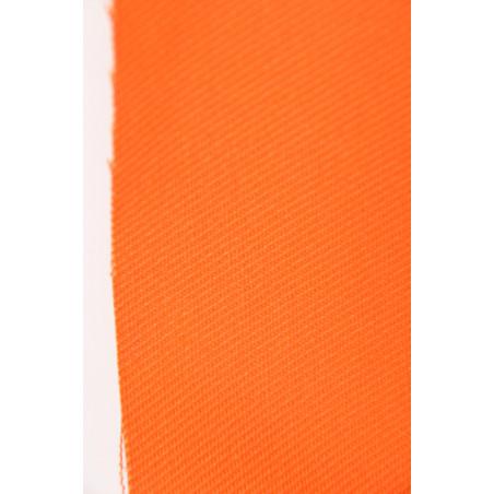 Tissu CHALLENGER, Croisé majoritaire coton, 315g/m², Orange