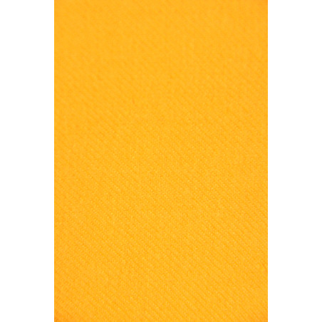 Tissu Croisé Retors, 100% coton, 330g/m², Jaune maïs