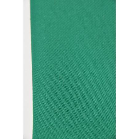 Tissu 4580 VT, Sergé majoritaire polyester, 240g/m², Vert vif