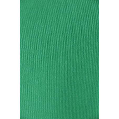 Tissu KG 308, Sergé majoritaire polyester, 245g/m², Vert vif