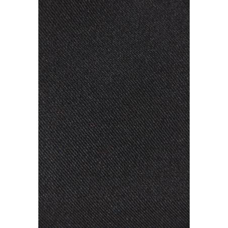 Tissu ABEILLE, Sergé polyester, 195g/m², Noir