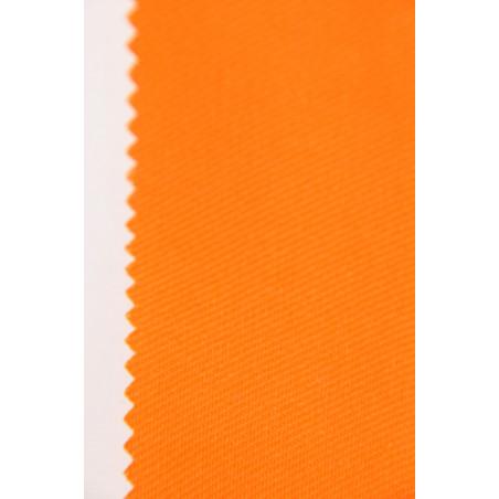 Tissu CHALLENGER, Croisé majoritaire coton, 315g/m², Orange soleil