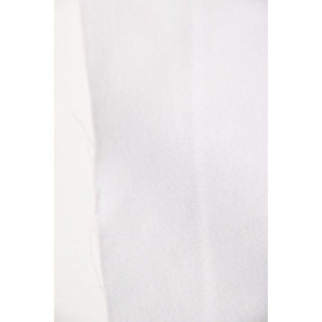 Tissu SCALA, Satin majoritaire coton, 275g/m², Blanc