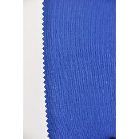 Tissu VELYS, Sergé majoritaire polyester, 240g/m², Bleu Roy