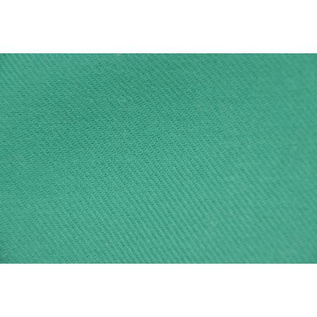 Tissu Croisé Retors, 100% coton, 330g/m², Vert sapin