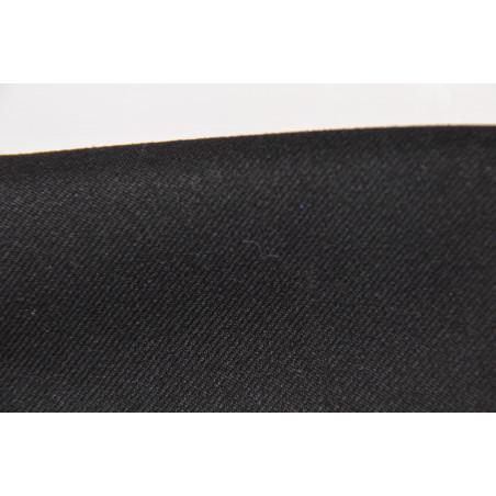 Tissu SOCCA LIGHT, 100% polyester, 255g/m², Noir