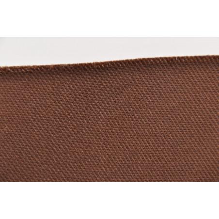 Tissu CHALLENGER, Croisé majoritaire coton, 315g/m², Marron