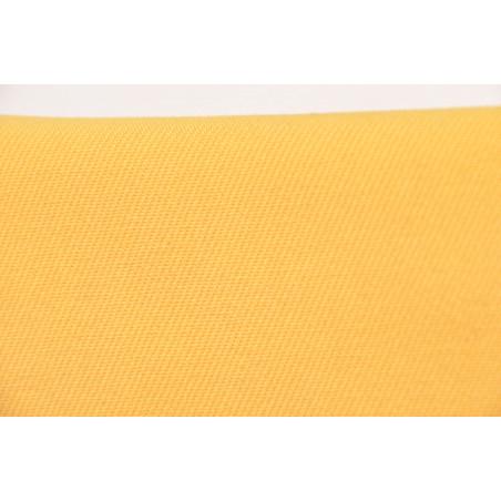 Tissu 2091 FROBS002, Sergé majoritaire coton, 290g/m², Jaune sulfure