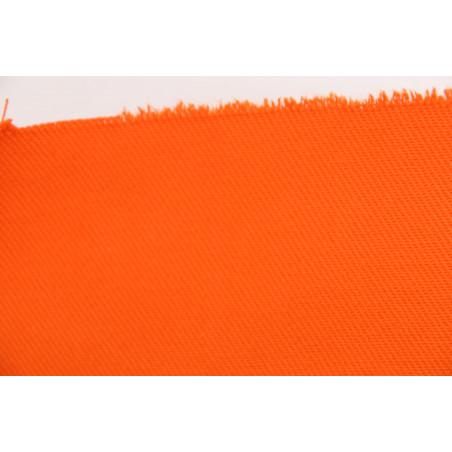 Tissu TI370XXX, Croisé majoritaire coton, 280g/m², Orange