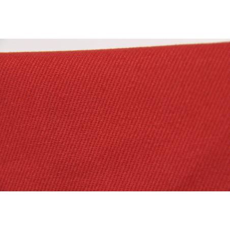 Tissu CHALLENGER, Croisé majoritaire coton, 315g/m², Rouge pompier