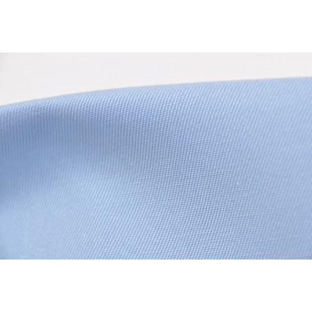 Tissu INDESTRUCTIBLE, Sergé majoritaire polyester, 245g/m², Bleu ciel