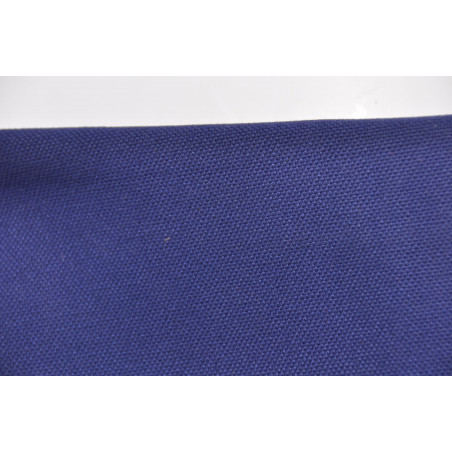 Tissu TREKKING, Natté majoritaire coton, 280g/m², Marine