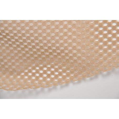 Tissu Filet 6120, Polyester, 52g/m², Beige