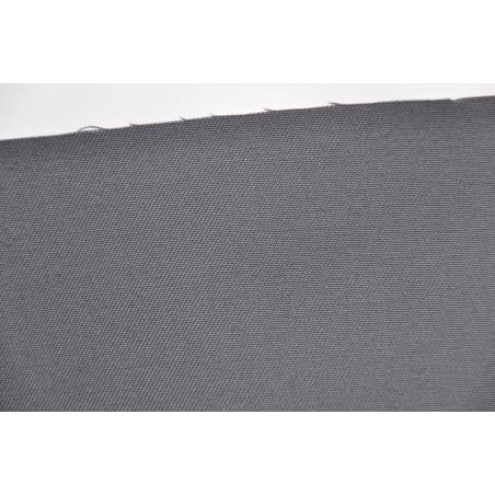 Tissu TOMBOY, Sergé majoritaire polyester, 245g/m², Gris convoy