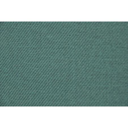 Tissu Croisé Retors, 100% coton, 330g/m², Vert forêt