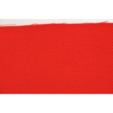 Tissu ARCHIMEDE, Croisé majoritaire coton, 320g/m², Rouge