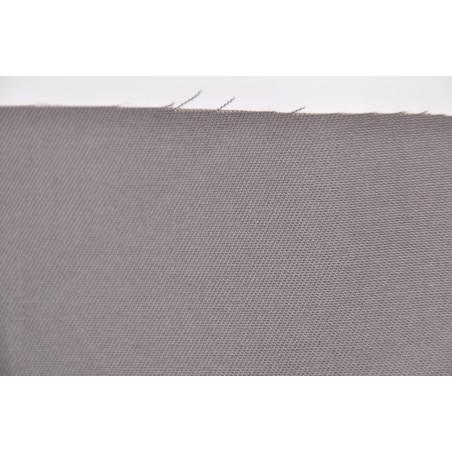 Tissu TROY, Sergé majoritaire coton, 245g/m², Gris taupe