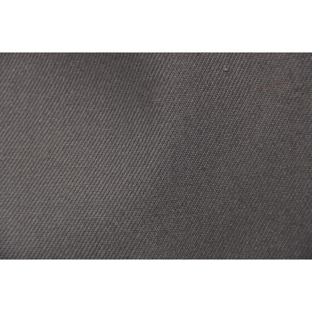 Tissu ATLAS, Croisé majoritaire coton, 315g/m², Gris foncé