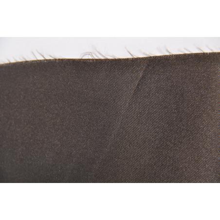 Tissu 09, Satin polyester, 95g/m², Chocolat