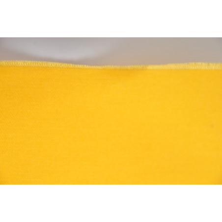 Tissu INDESTRUCTIBLE, Sergé majoritaire polyester, 245g/m², Jaune soufre