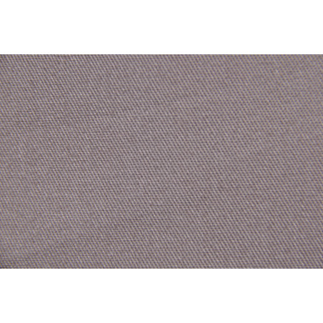 Tissu VELYS, Sergé majoritaire polyester, 240g/m², Gris