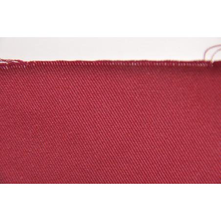 Tissu KG 308, Sergé majoritaire polyester, 245g/m², Bordeaux