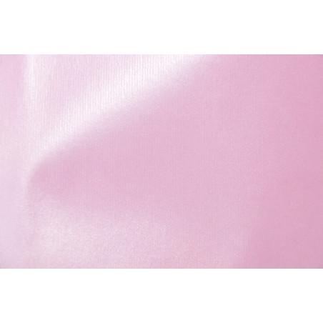 Tissu METALAK INDIENNE, Enduit, 170g/m², Rose