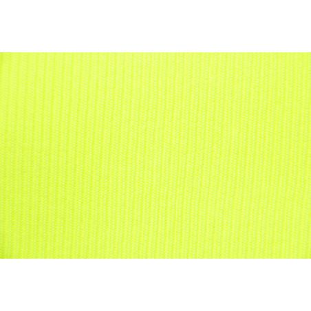 Tissu 2601, Bord côte, 340g/m², Jaune fluo