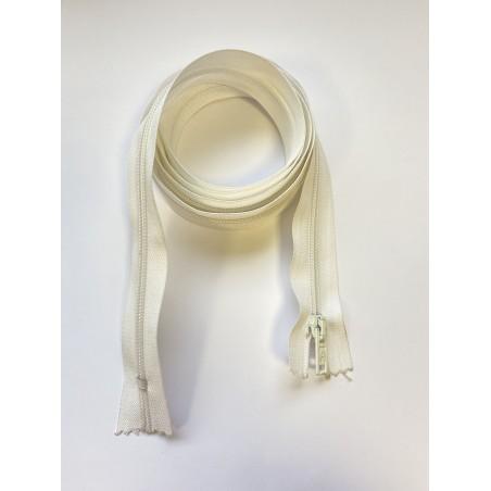 Fermeture à glissière blanche 145 cm