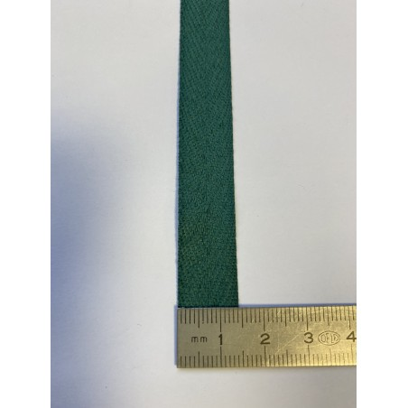 Sangle polyester verte 15 mm