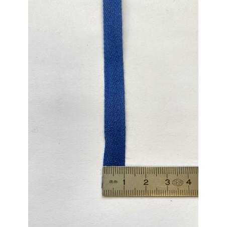 Sangle coton bleue 10 mm