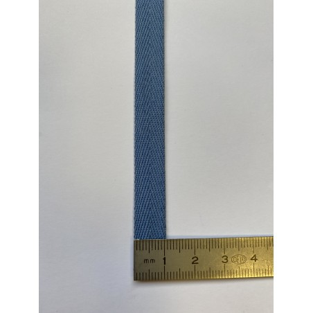 Sangle polyester bleue 15 mm