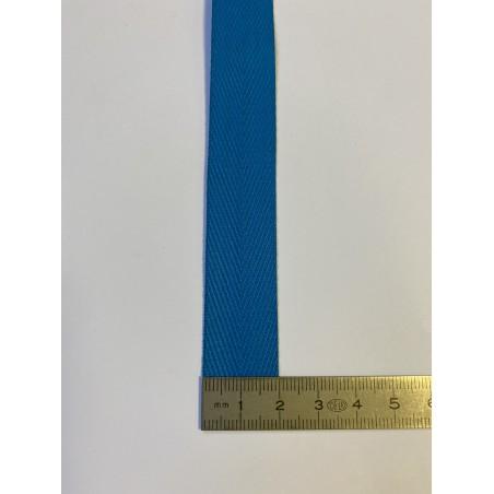 Sangle polyester azur 20 mm