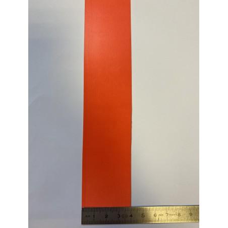 Bande rétroréfléchissante microbilles orange 40 mm