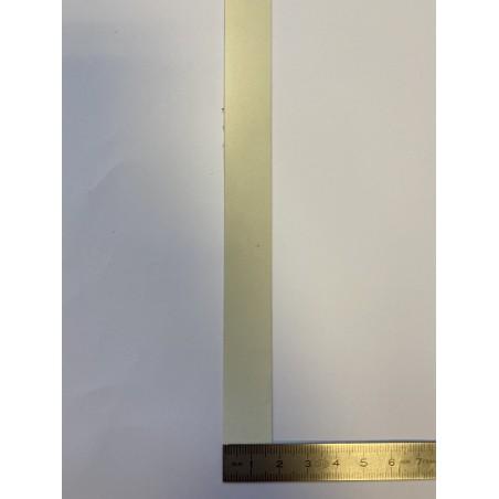Bande rétroréfléchissante microbilles blanche 17 mm