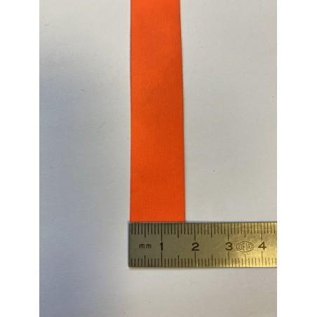 Bande rétroréfléchissante microbilles orange 17 mm