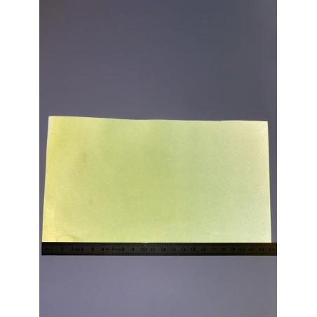 Bande rétroréfléchissante non feu microbilles jaune 230 mm