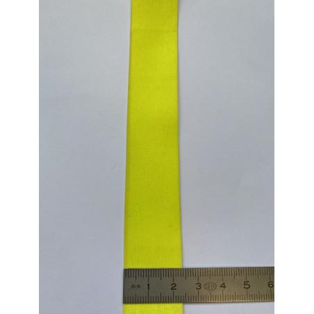 Bande rétroréfléchissante microbilles jaune 25 mm