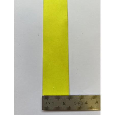 Bande rétroréfléchissante microbilles jaune 30 mm