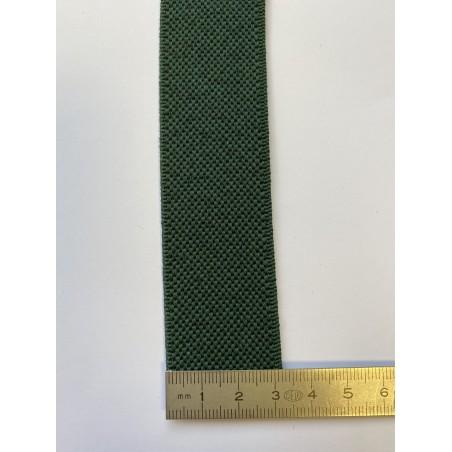 Élastique bretelle vert lierre 32 mm