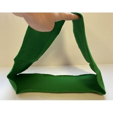 Bord côte tubulaire vert pomme 500 mm