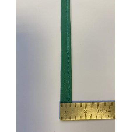 Passe-poil mèche coton 2 mm vert 9 mm