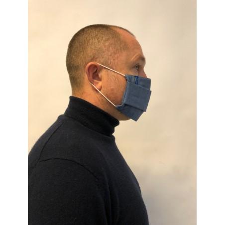 masque en tissu bleu pas cher 50 lavages