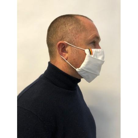 masque en tissu blanc pas cher 50 lavages