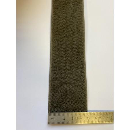 Bande auto-agrippante kaki 50 mm