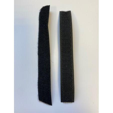 Bande auto-agrippante noire 16 mm
