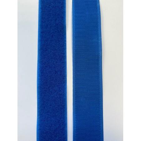 Bande auto-agrippante bleue 30 mm