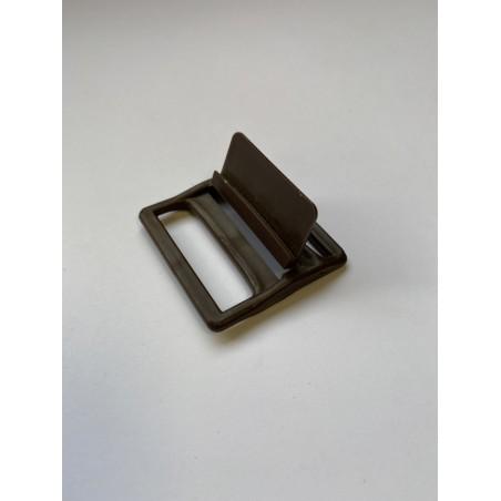 Boucle plastique marron 36 mm